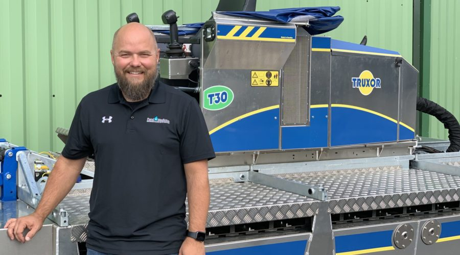 PondMedics to Deliver the First Truxor T-series Machines in North America